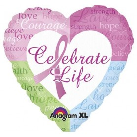 Celebrate Life - 18 inch Foil Balloon
