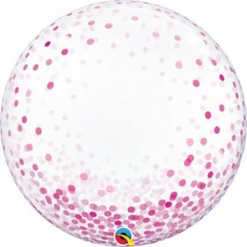 Deco Bubble - Pink Confetti