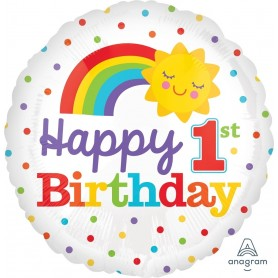 Happy 1st Birthday Rainbow