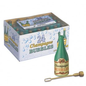 Bubbles Champagne Bottles - 24 pack