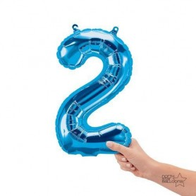 Number Two Blue - 16 inch (Air Fill)