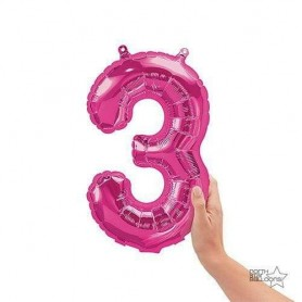 Number 3 Magenta - 16 inch (Air Fill)