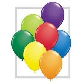 Standard Carnival Assortment Latex Balloons