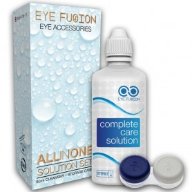 Contact Lenses Solution and Case Set