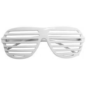 80s Slot Glasses - White