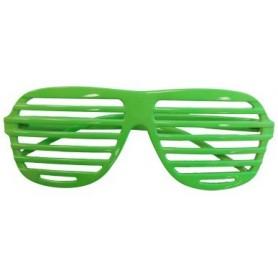 80s Slot Glasses - Neon Green