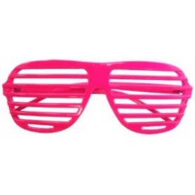 80s Slot Glasses - Neon Pink