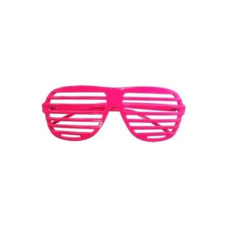 80s Slot Glasses - Neon Pink