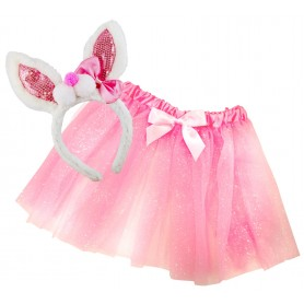 Rabbit Dress-Up Set - Pink