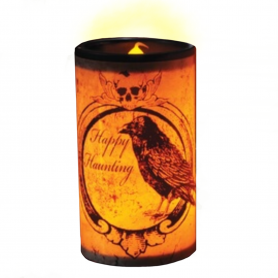 Creepy LED Candle - Raven
