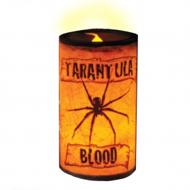 Creepy LED Candle - Tarantula Spider