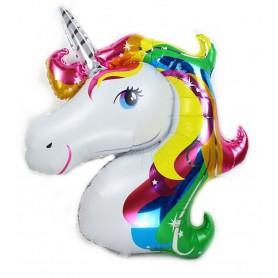 Unicorn Head - Rainbow SuperShape
