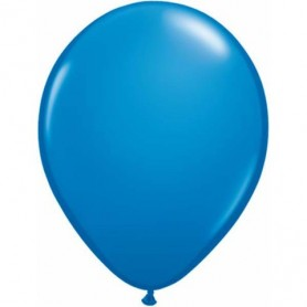Standard Dark Blue Latex Balloons
