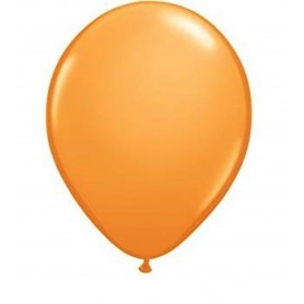 Standard Orange Latex Balloons