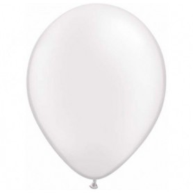 Pearl White Latex Balloons