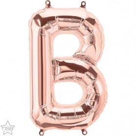 Letter B 16 in - Rose Gold (Air-Fill)