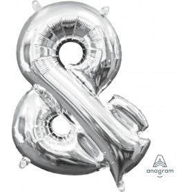 "Letter & symbol 16"" - Silver (Air-Fill)"
