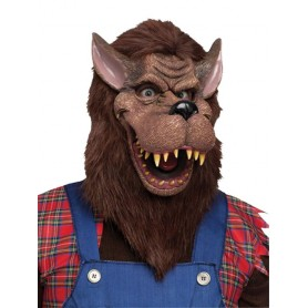 Deluxe Big Bad Wolf Mask - Adult