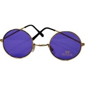 Lennon Round Sunglasses - Purple Large