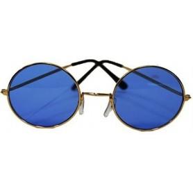 Lennon Round Sunglasses - Blue Large