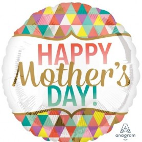 Happy Mother's Day Geometric