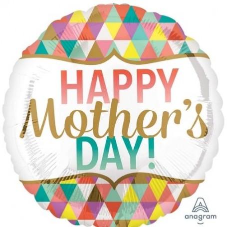 Happy Mother's Day Geometric