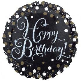 Happy Birthday - Holographic Foil