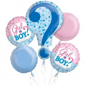 Gender Reveal Boy or Girl - Bouquet Kit