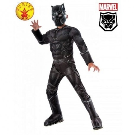 Black Panther Civil War Deluxe - Child Small