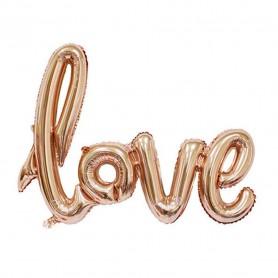 Love Script Foil Balloon