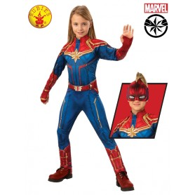 Captain Marvel Deluxe Hero Suit