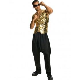Rapper Gold Vest