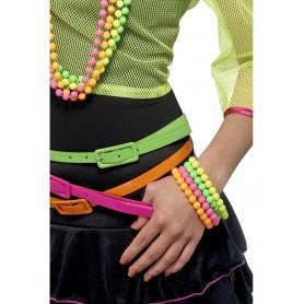 Beaded Bracelets - Neon