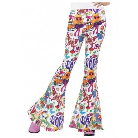 Groovy Flared Trousers - Ladies
