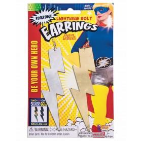 Lightning Bolt Hero Earrings