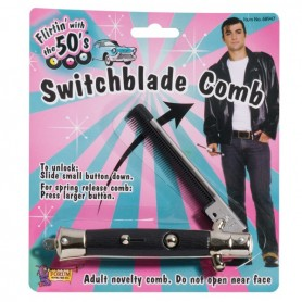 50's Switch Blade Comb