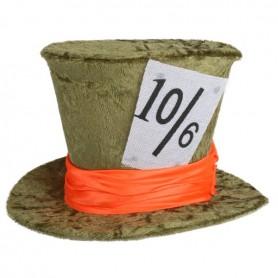 Mad Hatter Mini Hat - Green