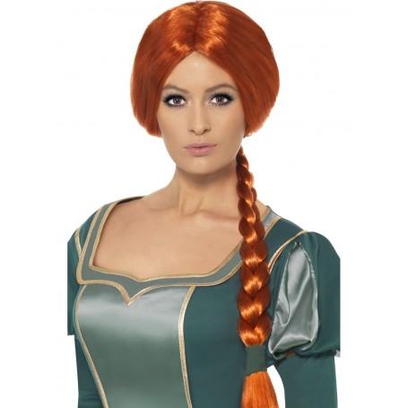 Princess Fiona Plaited Wig