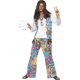 Groovy Hippie Men's 60's Costume
