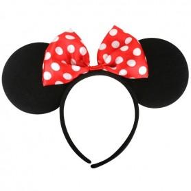 Mouse Ears with Bow Headband
