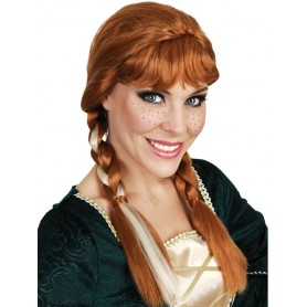 Anna Plaits Auburn Wig