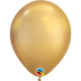 "Qualatex 11"" Round Latex Balloon - Chrome Gold"