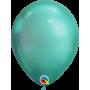 """Qualatex 11"""" Round Latex Balloon - Chrome Green"""
