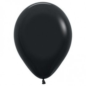 "Sempertex 12"" Round Latex Balloon - Fashion Black"
