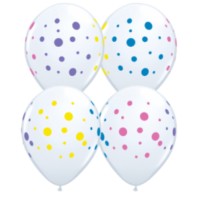 Colourful Dots Balloon
