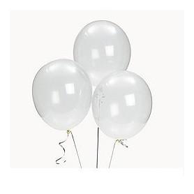 """Round Latex 11"""" 28cm Balloon - CLEAR"""