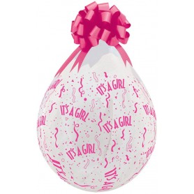 "Qualatex Stuffing Balloon 18"" - It's a Girl"