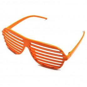 80s Slot Glasses - Neon Orange
