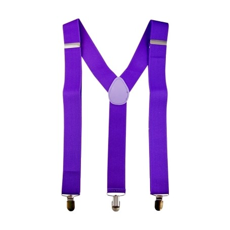 Purple Bracer Suspenders