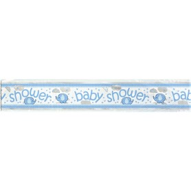 Blue Baby Shower Banner - 1.8 m
